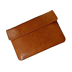 i-KitPit : PU Leather Pouch Case For Dell Venue 8 Pro (BROWN)