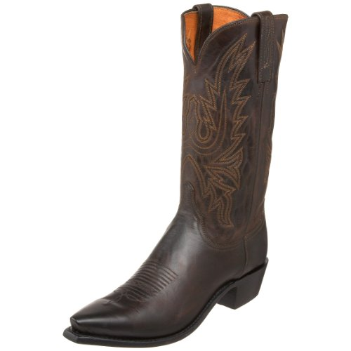 1883 by Lucchese Men's N1556.54 Western Boot,Chocolate,9 EE US