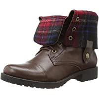 Penny Loves Kenny 0178 Devon Lace-Up Womens Boot (Brown)