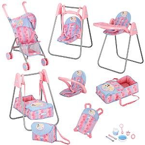 Buy Graco Princess Baby Doll Deluxe Playset