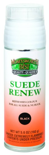 Moneysworth & Best Suede Renew Dye, 5.6 Ounce, Black (Dye For Boots compare prices)