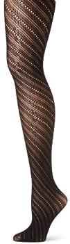 Ellen Tracy Women's Bias Stripe Net T…
