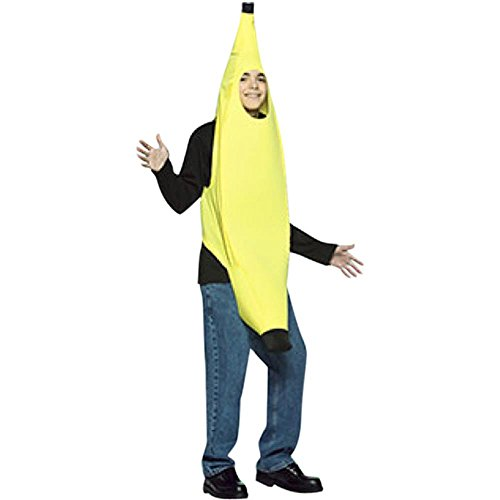 Teen Banana Halloween Costume (Size: Standard 12-16)