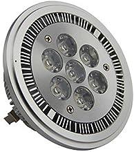 Dimmable AR111 G53 7W 700LM 3000K Warm White Led Spot Lamp LightAC220-260V