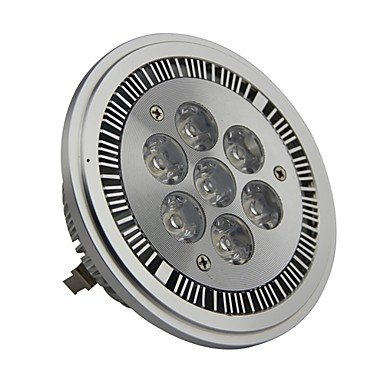 Dimmable Ar111 G53 7W 700Lm 3000K Warm White Led Spot Lamp Light(Ac220-260V)
