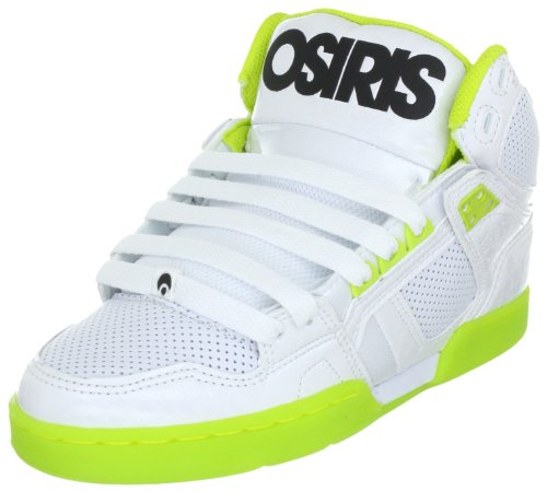 Osiris Men's Nyc'83- Trainers 602177 Wht/Lme/Wht 11 UK