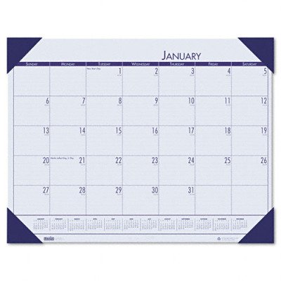 EcoTONES Monthly Desk Pad Calendar – 22 x 17(sold in packs of 3)