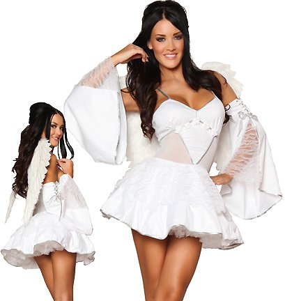 2Pc. Heavenly Angel Costume