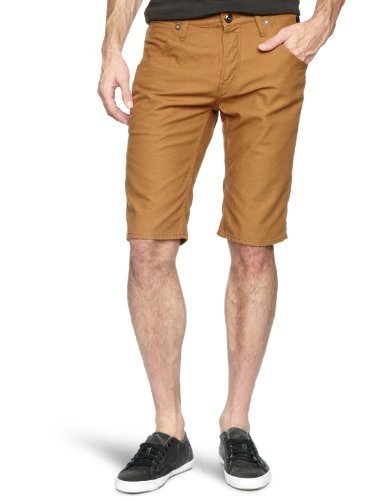 Duck and Cover Angus Men's Shorts Tobacco W34 IN