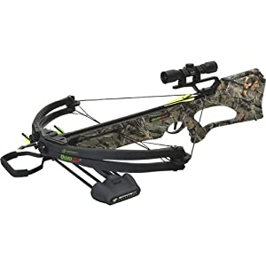 Barnett Quad AVI Crossbow Package with Red Dot Scope