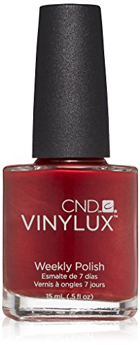CND Vinylux Weekly Nail Polish, Red Baroness, .5 oz (Shellac Nail Polish Red Baroness compare prices)