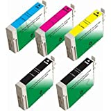 inexpensive 5 Packs NonOEM EPSON STYLUS CX7400 CX8400 NX400 T0691 0694 69 Compatible Office Product inexpensive