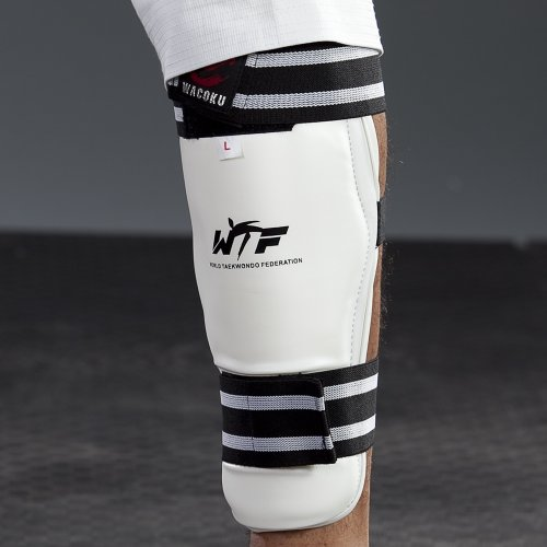 Wacoku WTF Approved Shin Pads Medium