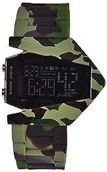 Skmei Calendar Digital Multi Color Dial Mens Watch - (HMWA05S020C0)