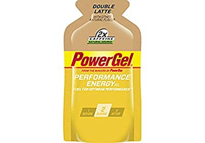PowerBar Energy Gel, Double Caffeine and Latte, 1.44 Ounce Packets (Pack of 24)