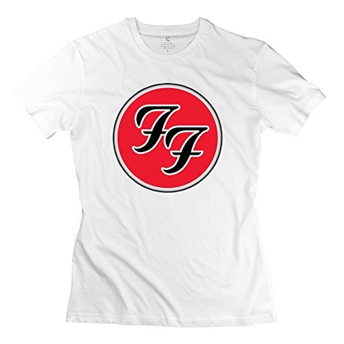 Donna's Foo Fighters Band Logo T-Shirt White