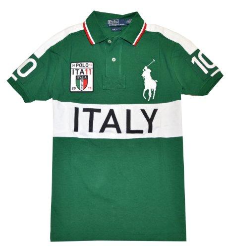 Polo Ralph Lauren Men Custom Fit Big Pony T-Shirt - ITALY (Small)