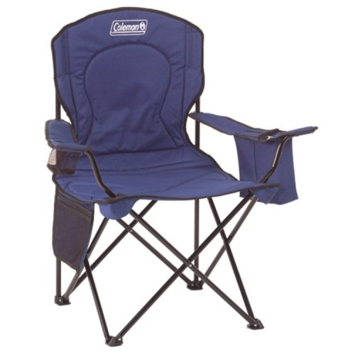 Coleman Broadband Quad Chair with Cooler, Blue