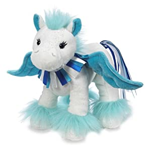 Webkinz Sapphire Pegasus Plush from Webkinz