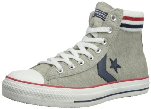 Converse Unisex-Adult Star Player Sock Mid High-Tops 11778 Ash 8 UK