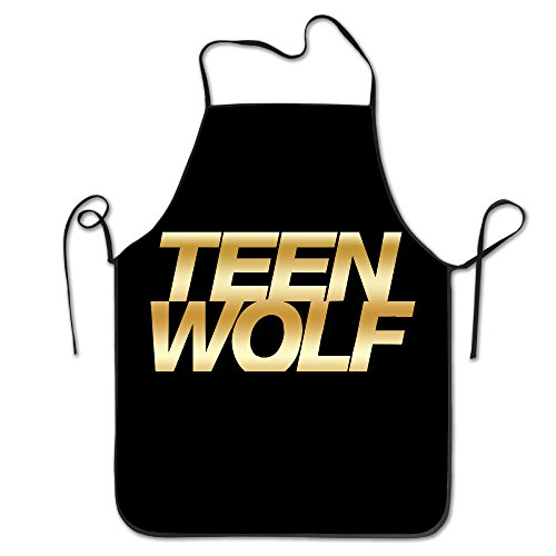 [Teen Wolf Gold Logo Kitchen Barbecue Apron] (Toddler Gardener Costume)