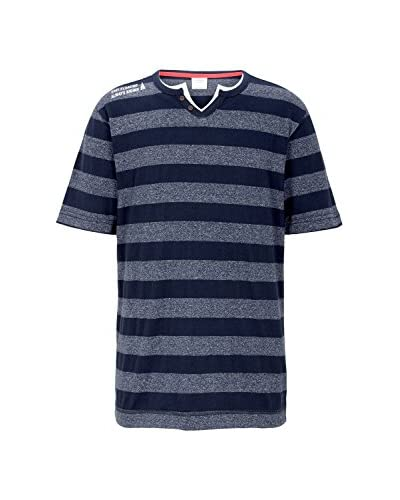 s.Oliver Camiseta Manga Corta Azul Marino