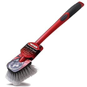 Mothers Wheel & Wheel Well Long Handled Brush