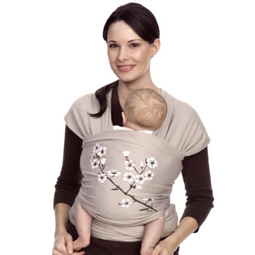 Check Out This Moby Wrap UV SPF 50+ 100% Cotton Baby Carrier, Almond Blossom