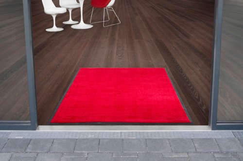Joy Series Use & Wash Floor Mat - Red - 103x180cm - 5 sizes available