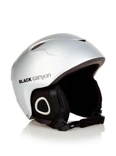 Black Canyon Kinder und Jugend Skihelm Hintersee, Silber, S, BC39240SI
