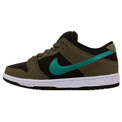 Amazon.com: Nike Men's Dunk Low PRO SB, MEDIUM OLIVE/TURBO GREEN-BLACK