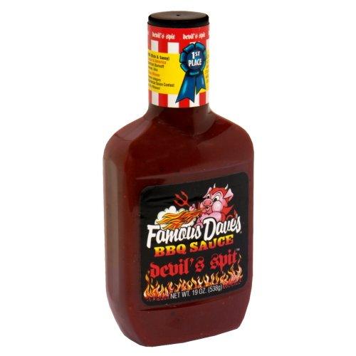 Famous Dave's BBQ Sauce Devil's Spit, 19-Ounce (Pack of 6)