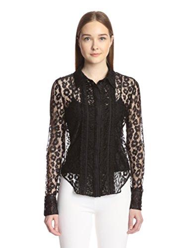 Chloé Women's Leopard Lace Blouse