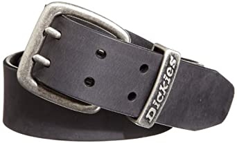Dickies Men's Double Prong Belt, Black, 32