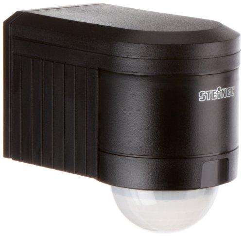 steinel 602710 bewegungsmelder is 240 schwarz passiv infrarot energieeffizient ip54. Black Bedroom Furniture Sets. Home Design Ideas