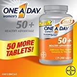 One A Day Women's Multivitamin/Multimineral Supplement Tablets 50+ Healthy Advantage