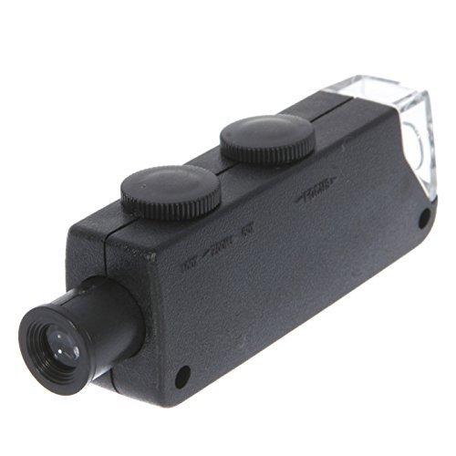 Great Value Telescope New Portable 60X-100X Zoom Microscope Black