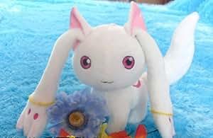 1 X Puella Magi Madoka Magica Magic Kyubey Plush Toy Doll cosplay 20cm