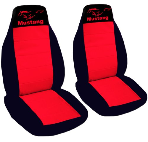 custom fit 1990 mustang gt seat covers front set of seat covers seperate headrest included. Black Bedroom Furniture Sets. Home Design Ideas
