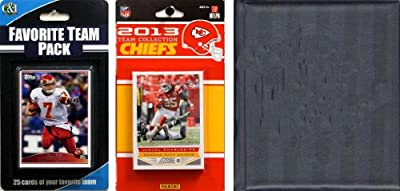 NFL Kansas City Chiefs Licensed 2013 Score Team Set and Favorite Player Trading Card Pack