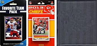 NFL Kansas City Chiefs Licensed 2013 Score Team Set and Favorite Player Trading Card... by C&I Collectables