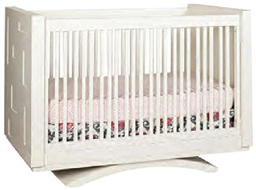 Capretti Design Milano Crib To Twin, Natural