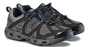 Speedo Mens Hydro Comfort 4.0 Water Shoe (13, Grey/Blue)