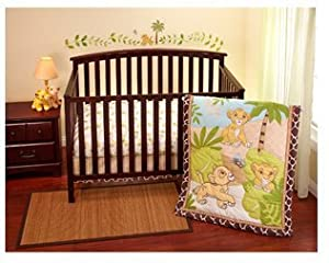 Disney - Lion King Simba 3-piece Crib Bedding Set