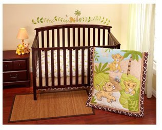 Disney - Lion King Simba 3-piece Crib Bedding Set - 1