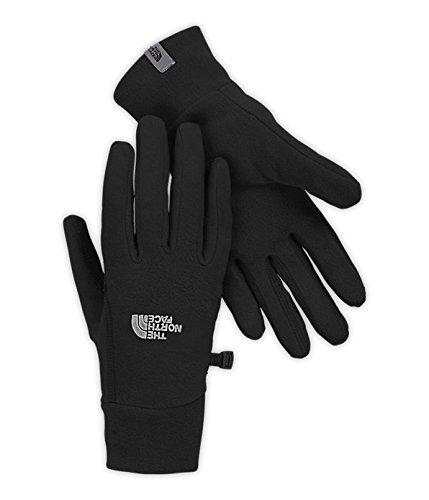 The North Face Women's TKA 100 Glacier Gloves-(Medium, TNF Black)