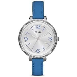 Fossil Damen-Armbanduhr XS Georgia Analog Quarz verschiedene Materialien ES3279