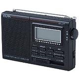ELPA 液晶表示AM/FM 短波ラジオ ER-21T-N