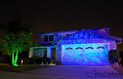 (2) Blisslights Spright (1)BLUE (1)GREEN Stars Light Projectors With 120v Power Supply! - Package Deal!!