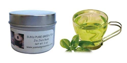 Sun's Tea(TM) Organic Green Tea: Jiu Jiu Buds (Free shipping on tea order of $25.00 -- you can mix and match any teas from Sun's Tea)